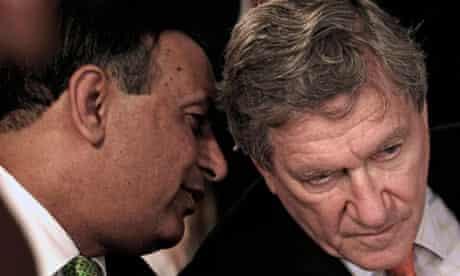 Husain Haqqani and Richard Holbrooke