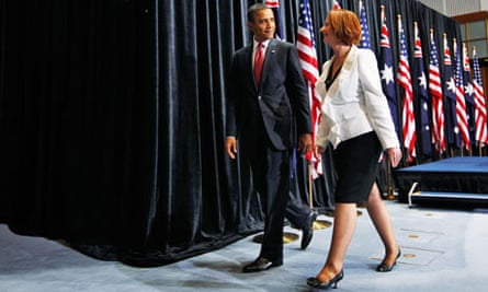 Barack Obama and Julia Gillard 1
