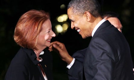 Barack Obama and Julia Gillard 3