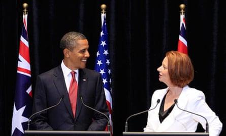 Barack Obama and Julia Gillard 5