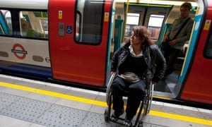 Disabled travellers facing access problems on tube