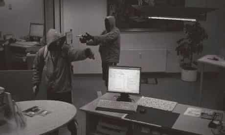 CCTV 'doner murderers', during a bank robbery in Arnstadt