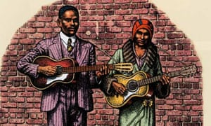 A Detail from Kansas Joe and Memphis Minnie