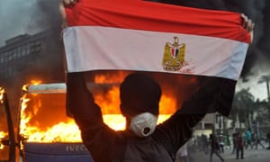 egypt Clashes in Tahrir square