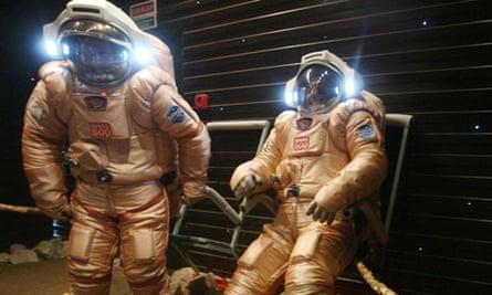 european space agency flight to Mars training