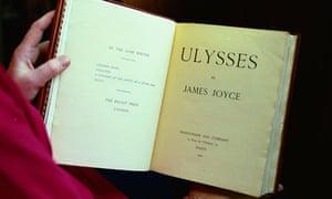 A 1922 edition of James Joyce's Ulysses