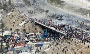 Manama pearl revolution protests