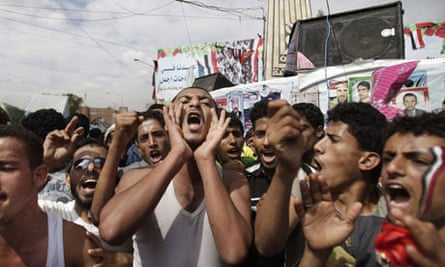 Marchers protest in Sana'a