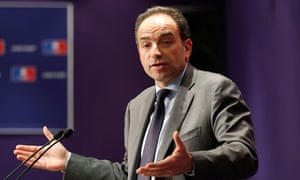UMP party leader Jean-Francois Cope