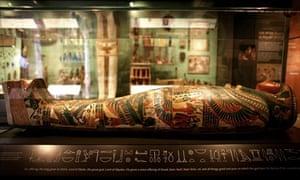 New Egyptian galleries, Ashmolean Museum