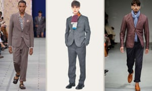 Men's fashion: key looks from Louis Vuitton, Margaret Howell and Oliver Spencer.