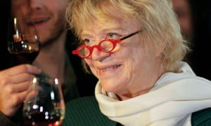 Eva Joly, the Greens-Europe-Ecology candidate for the French presidential elections, tastes red wine