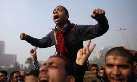 Protests in tahrir Square