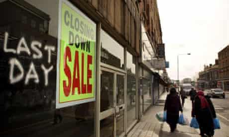 High Street shops