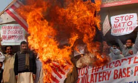 Pakistan reaction to Nato airstrike