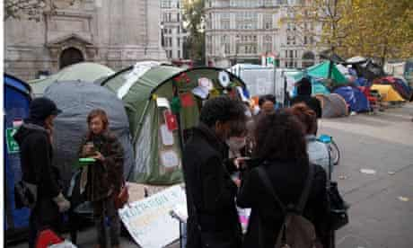 The Occupy London tent protesters. Are they just 'fornicating hippies'?