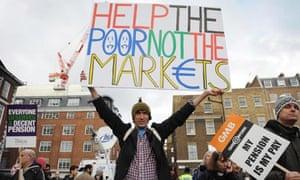 Public sector strike London