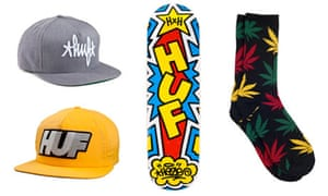 Huf skating apparel