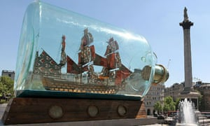 Yinka Shonibare's Fourth Plinth Ship