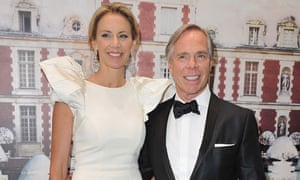 Tommy Hilfiger and his wife