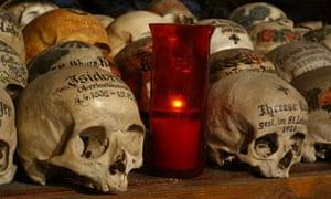 Photos of skulls by Paul Koudounaris.