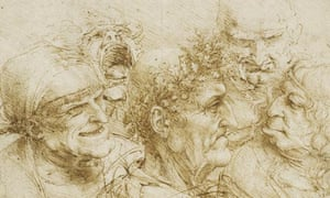 Five Character Studies by Leonardo da Vinci