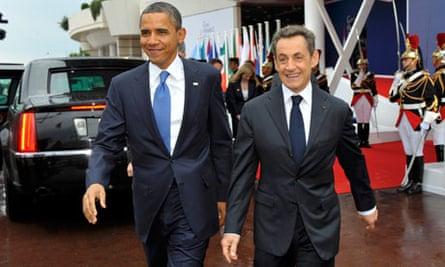 President Sarkozy and President Obama