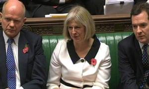 Theresa May George Osborne William Hague