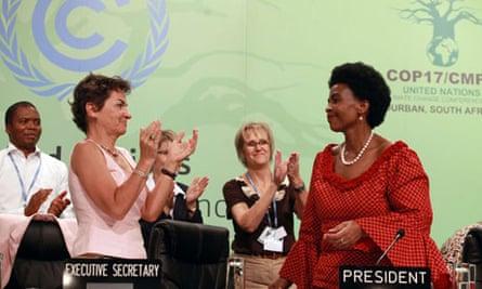 S-AFRICA-DELEGATES-COP17