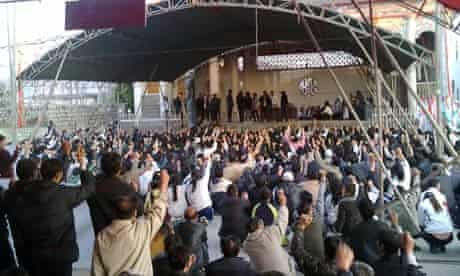 Wukan villagers pay tribute to Xue Jinbo