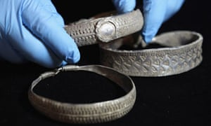 Artifacts From The Silverdale Viking Hoard