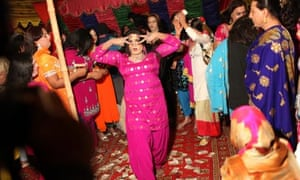 Pakistani hijras, or transgender men