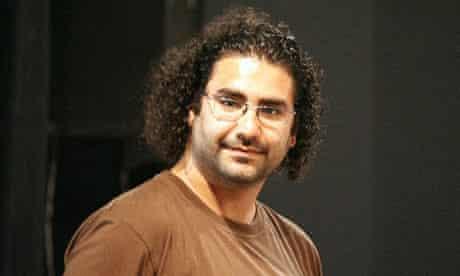 Egyptian blogger Alaa Abd el Fatah