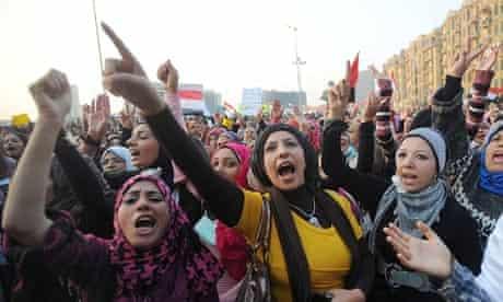 Protest in Tahrir square