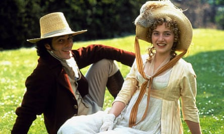 Greg Wise and Kate Winslet in the 1995 film of Sense and Sensibility