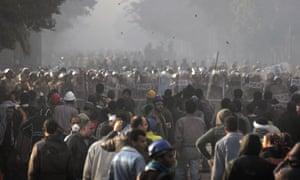 egypt cairo protest violence