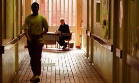 Corridor at Feltham Young Offenders Institution