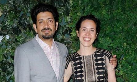 Siddhartha Mukherjee and his wife Sarah Sze, May 2011