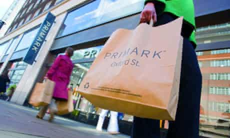 Retailers including Primark are using paper bags