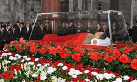 Kim Jong Il  body