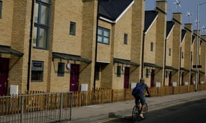 Council houses in Croydon, London. The right to buy discount in parts of the capital will treble