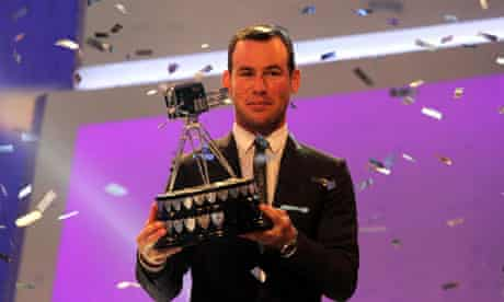 Mark Cavedish wins BBC sports personality of the year award
