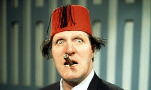 Tommy Cooper: a lumbering giant with a featherlight touch