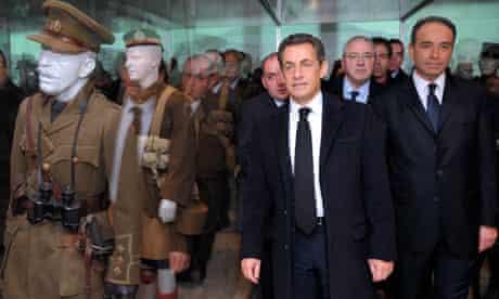 Nicolas Sarkozy Museum of the Great War