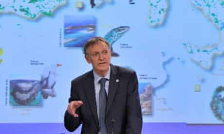 The EU environment commissioner Janez Potočnik