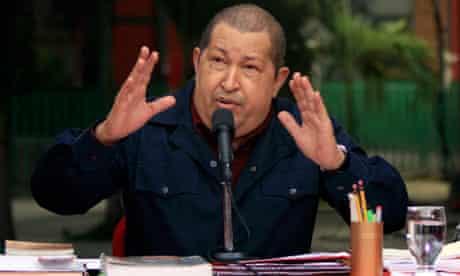 Venezuela's President Hugo Chávez