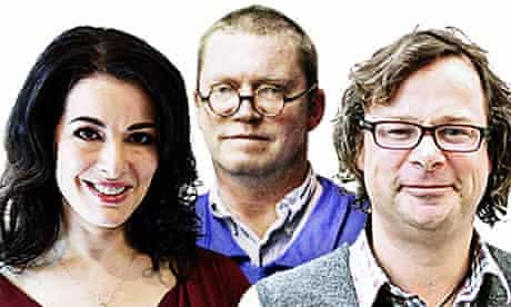Nigella Lawson, Fergus Henderson and Hugh Fearnley-Whittingstall
