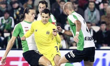Racing Santander vs Villarreal