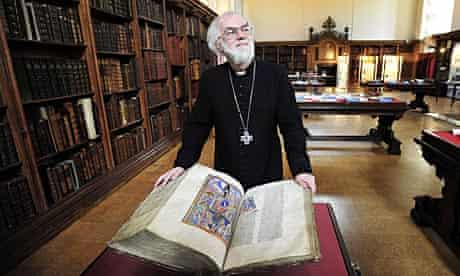 The archbishop of Canterbury warns that marginalising the young will lead to more 'futile anarchy'.