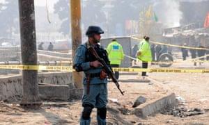 Bomb Attack, Kabul, Afghanistan - 06 Dec 2011